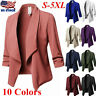 Women's Plus Size OL Suit Slim Blazer Jacket Coat Top Outwear Long Sleeve Casual