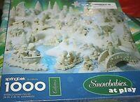 New Springbok Snowbabies Puzzle Playground Boat Bridge 1000 pcs  -U#