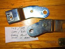 DUCATI  oem 749/999 LEFT AND RIGHT  LOWER FAIRING MOUNTING BRACKETS