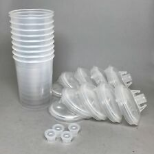 3M PPS Paint Prep System Medium Lids & Liners #16000 10  Pack