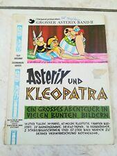 ASTERIX und KLEOPATRA / GROSSER ASTERIX BAND 2 / ERSTAUFLAGE  / 1968 / EHAPA