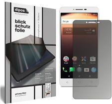 Alcatel A3 XL Blickschutzfolie matt Schutzfolie Folie dipos Privacy Filter