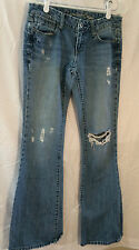 American Eagle size 2 long women's ladies juniors washed look blue jeans
