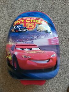 Disney Cars Hard Shell Mini Suitcase. Excellent Condition