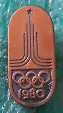 NOC CCCP OLYMPIC MOSCOW 1980 OLD PIN BADGE 3