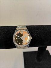 Swatch Translucent Flower Design Wrist Watch - J11