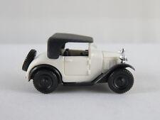 Brekina 1511 BMW 3/15 Dixi Cabriolet (1929) in weiß/schwarz 1:87/H0 guter Zust.