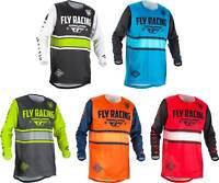 Fly Racing Kinetic Era Jersey 2018 - MX Motocross Dirt Bike Off Road ATV Mens