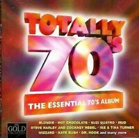 TOTALLY 70'S THE ESSENTIAL 70'S ALBUM CD -VERY GOOD CONDITION 1997 EMI 18 TRACKS