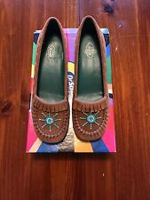 Women's Dr. Scholls Heels - Sioux Saddle Brown - Size 7.5