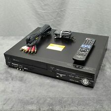 Panasonic DMR-EZ48V VHS/DVD Combo Recorder Player HDMI Auto Dubbing With Remote