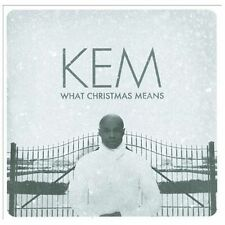 What Christmas Means (deluxe Edition) - Kem Compact Disc NEW SEALED