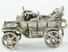 VTG STERLING SILVER ANTIQUE MODEL T A TIN LIZZY CA CHARM