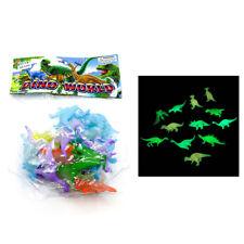 2 pulgadas Luminous Mini Dinosaurio Jurásico Noctilucentes Niños JugueSTG