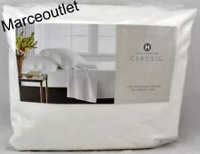 Hotel Collection Classic 800 Tc Cotton King Extra Deep Fitted Sheet White