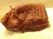 """Rawlings SG 97 13.5"""" Baseball Softball Glove Right Handed Throwing Excellent Con"""