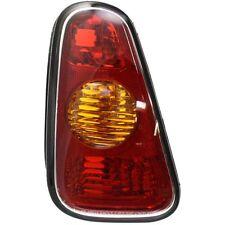 Tail Light For 2002-2006 Mini Cooper LH Amber & Red Lens