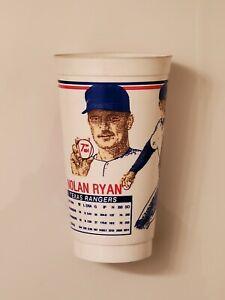 Scarce 1992 Nolan Ryan Texas Rangers Icee 24 oz Baseball Cup