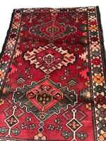 RUG 149 ANTIQUE Hand Knotted wool rug VERY FINE
