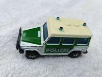 Matchbox intl  Mercedes Benz 280 GE Polizei made in Macu