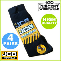 Genuine JCB Heavy Duty Hard Wearing Winter Warm Work Socks Safety Boots Shoes