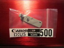 Für Canon IXUS 500 - Gehäuse I/O-Verschluss-Klappe Gummideckel A/V OUT DIGITAL