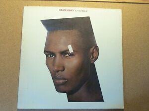 GRACE JONES - LIVING MY LIFE VINYL LP 1982