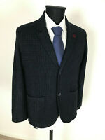 Daniele Fiesoli Tweed Sakko Jacke Jacket Gr.L Wolle NEU mit Etikett