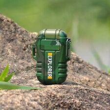 BRIQUET RECHARGE USB EXPLORER PLASMA DOUBLE ARC WATERPROOF PLUSIEURS COULEURS