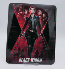 BLACK WIDOW - Glossy Bluray Steelbook Magnet Magnetic Cover (NOT LENTICULAR)