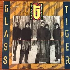 GLASS TIGER, THE THIN RED LINE. 1986 Lp Record