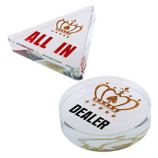 Acrylic Dealer Chip Poker Guard Cards Entertainment Accessories Gift