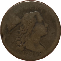 1794 S-51 LIBERTY CAP LARGE CENT 1C NICE BROWN COLOR..SMOOTH REVERSE.