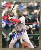 MIKE LOWELL BOSTON RED SOX SIGNED AUTOGRAPHED 8X10 PHOTO