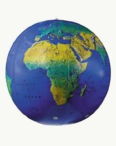 "Replogle Inflatatable Globe 27"", Dark Blue"