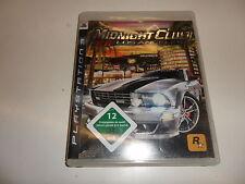 PlayStation 3 PS 3 Midnight Club: los Angeles