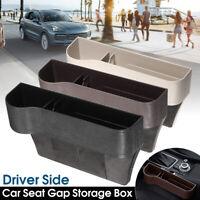 Catch Catcher Box Car Seat Pocket Storage Organizer Coin Box Driver Side Auto