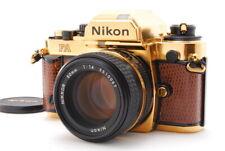 Rare ALMOST MINT Nikon FA GOLD GRAND PRIX'84 Film Camera w/ Ai-s 50mm f/1.4 JAPA