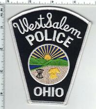 West Salem Police (Ohio) Shoulder Patch from the 1980's