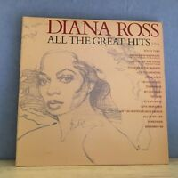 DIANA ROSS All The Great Hits 1981 UK Vinyl LP EXCELLENT CONDITION best of   B