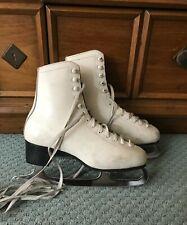 Women's FOOT brand Figure Skates size 8