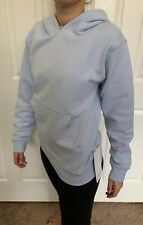 Lululemon Size S All Yours Hoodie Daydream DAYD Blue Pullover Cotton Fleece Run