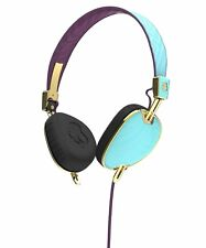 Skullcandy Knockout Engineered for Women, On-Ear Headphones - Blue/Purple/Gold