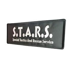 S T A R Resident Evil Big XL 10x4 inch embroidered tag fastener patch