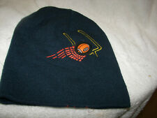 Football Field Goal Stocking cap Youth /teen dark blue New embroidered / ball