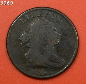 """1803 Draped Bust Half Cent """"VG/F"""" *Free S/H After 1st Item*"""