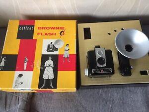 Appareil photo Kodak Coffret Brownie Flash Vintage 1950