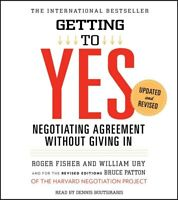 Getting to Yes, Negotiating Agreement Without Giving In Roger Fisher - Audiobook