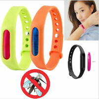 Kids Adult Anti Mosquito Insect Pest Bugs Repellent Repeller Wrist Band Bracelet