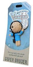 Watchover Voodoo Puppe Super Bruder -Schlüsselanhänger-Glücksbringer-neu+OVP !